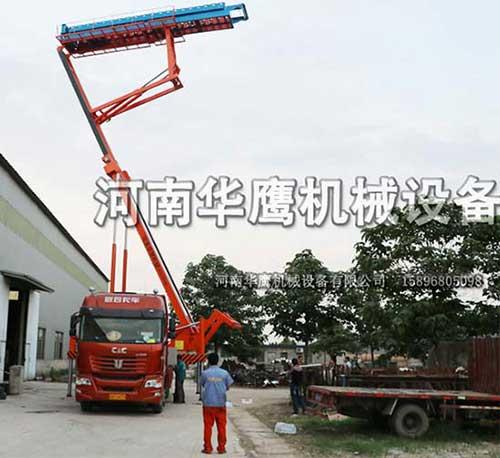 车载式高空压瓦设备