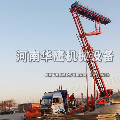 长垣客户购买一台21米的高空压瓦机